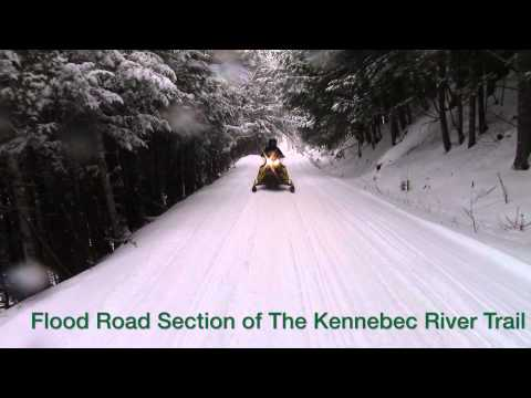 Rider Live Report - Winter Storms Score On The Trails: The Forks Maine, Jan 30 2015