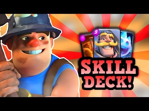 2.9 Miner Poison :: BEST Tier 1 Skill Deck in Clash Royale ft. Tag