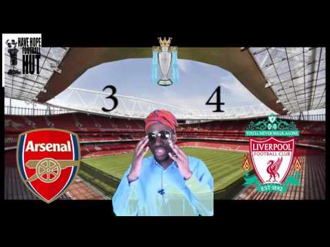 Arsenal vs  Liverpool Post Match Analysis Review Premiership (4-3)