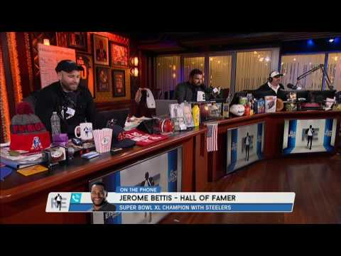 Pro Football HOFer Jerome Bettis on Bowling in Houston During SB Week - 1/26/17