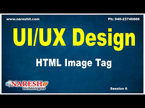 Session-6 | HTML Image Tag | UI/UX  Tutorials