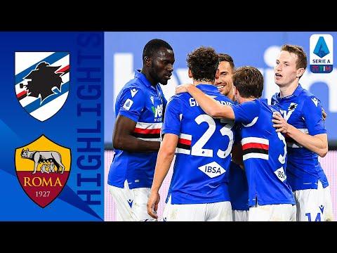 Sampdoria 2-0 Roma | La decidono Adrien Silva e Jankto | Serie A TIM