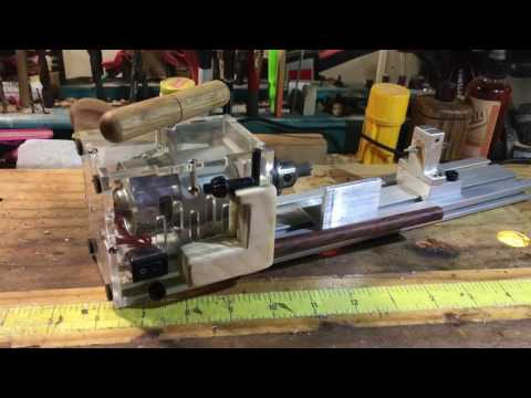 Gary's Wares: CC01 Mini-Lathe Machine Review