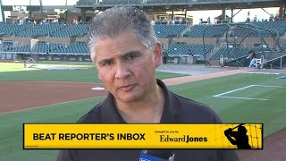 Edward Jones Reporter Inbox: Chris Haft talks Giants