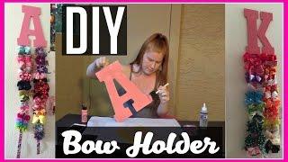 DIY Bow Holder! | Under $10!