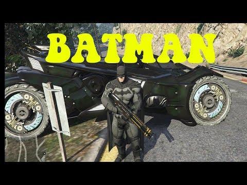 GTA 5 Batman cứu bạn gái Catwoman|GHTG