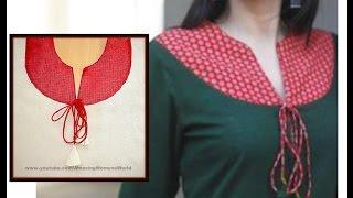 Yoke Style Dori Kurti | Kameez Making DIY
