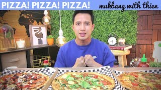 [mukbang with THIEN]: PIZZA 🍕 & REAL TALK - the Pizza Press (Create Your Own Pizza!)