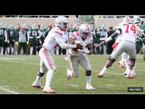 Mike Weber Highlights-Ohio State RB