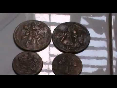1616,1717,1818,1839 and 1842 East India Company Coins Replica
