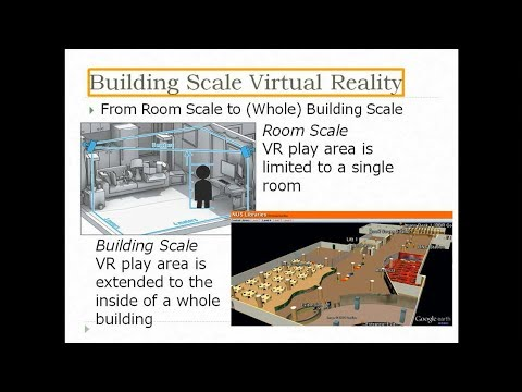 Building Scale VR: Creating Indoor 3D Maps & its Application to Simulation of Disaster Situations