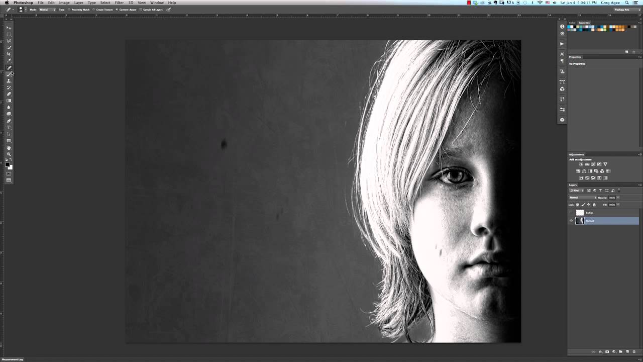 Removing dots from black white photos photoshop tricks tips