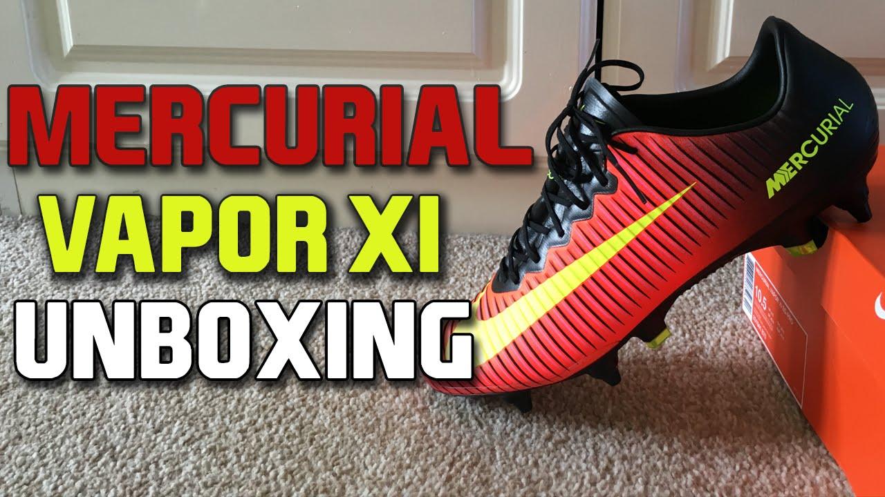 best deals on eb672 fe3b5 Nike Mercurial Vapor 11 SG-PRO Unboxing (Spark Brilliance Pack)