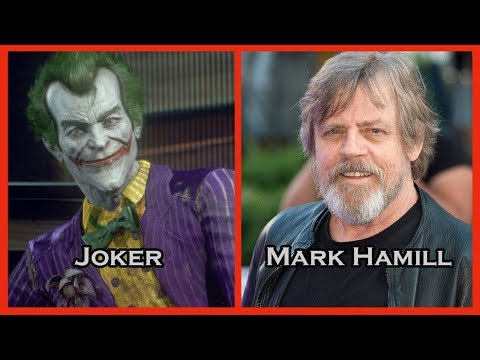 Characters and Voice Actors - Batman: Arkham Knight