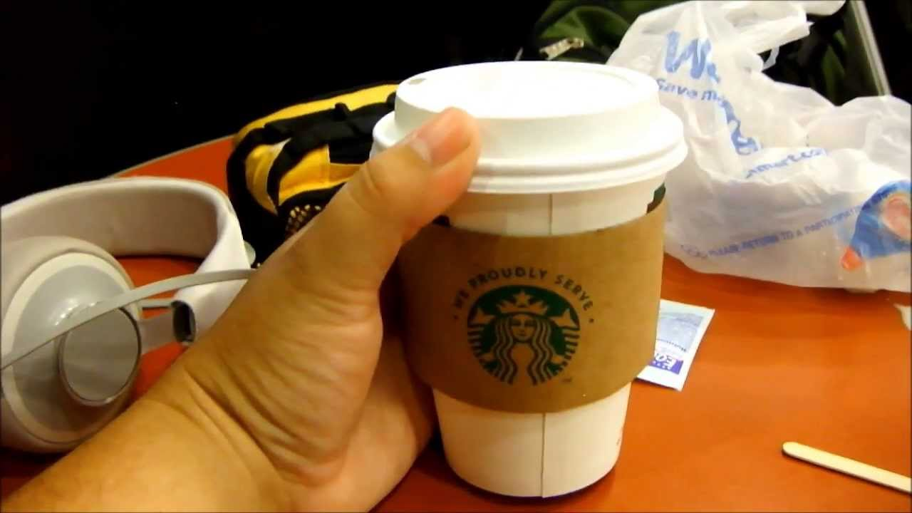 Starbucks survival guide: healthiest choices for beverages.