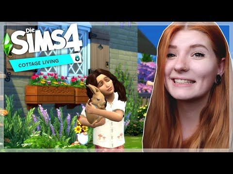 MY DREAM PACK IS COMING!! 👩🌾 | The Sims 4 Cottage Living | Trailer Reaction |