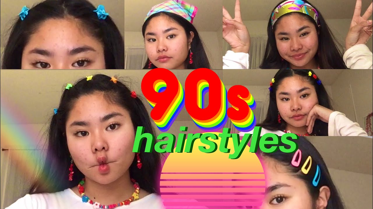 Cute Easy 90 S Inspired Hairstyles