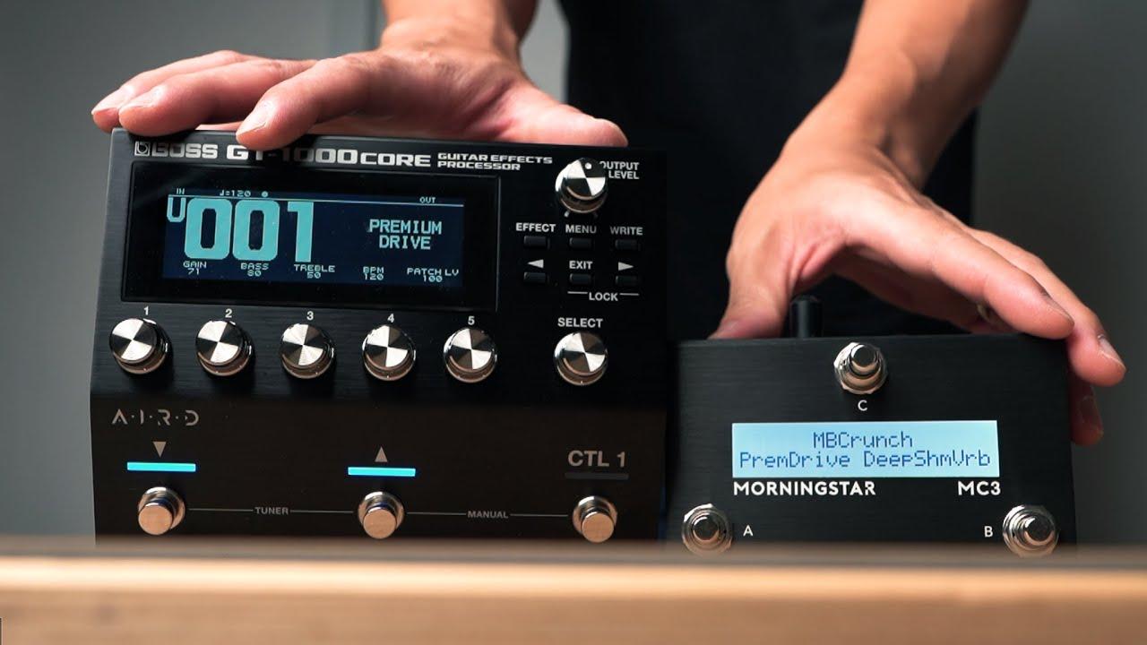 Boss GT-1000 Core MIDI Control