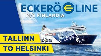 M/S Finlandia - Eckerö Line | Tallinn to Helsinki | Trip report