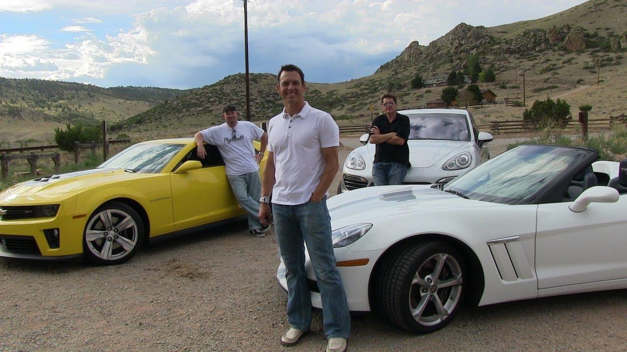 2013 Chevy Corvette V Camaro Zl1 V Porsche Cayenne S Mile