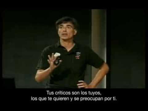 Trailer de  La última lección de Randy Pausch subtitulado en castellano