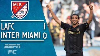 Carlos Vela's brilliant goal guides LAFC to victory vs. David Beckham's Inter Miami | MLS Highlights