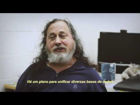 "RICHARD STALLMAN ""Que o Brasil não se renda ao Temer!"""