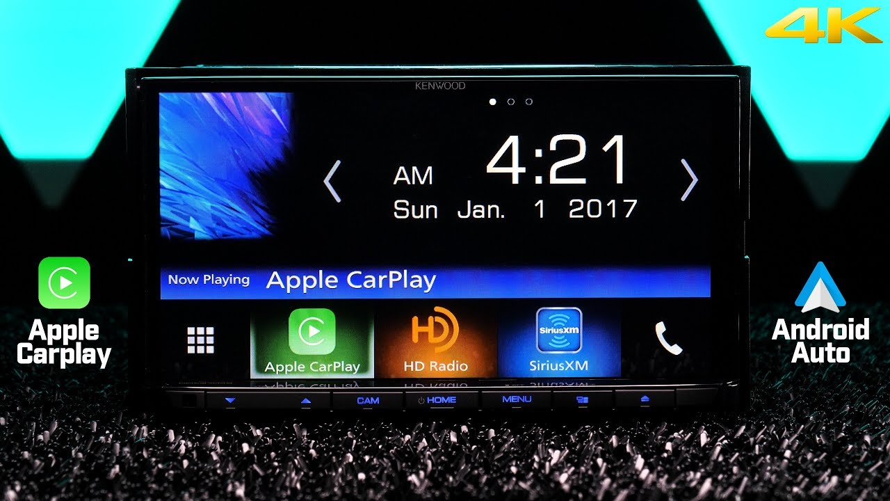 kenwood ddx9704s apple carplay and android auto plus waze youtube. Black Bedroom Furniture Sets. Home Design Ideas