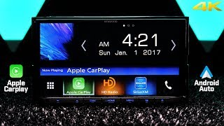 Kenwood DDX9704S - Apple Carplay and Android Auto plus WAZE