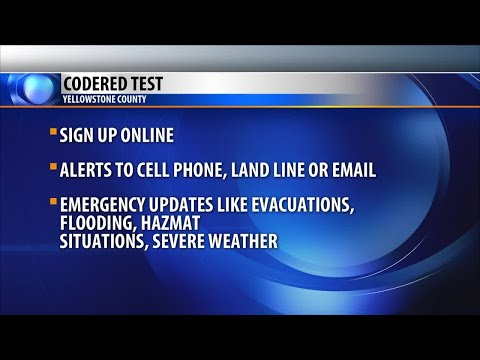 Yellowstone County conducts first test of new emergency alert system