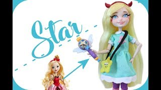 Making a STAR BUTTERFLY Doll!