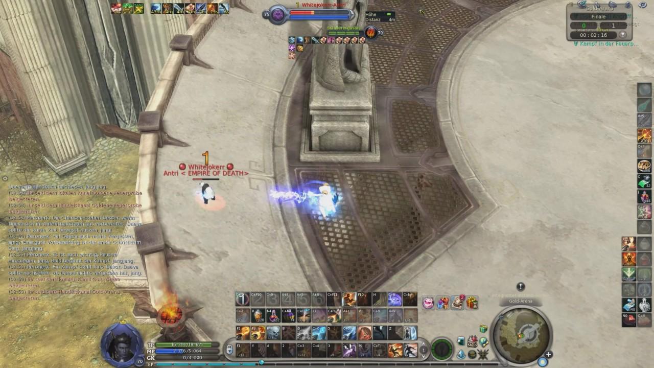 AION 5 3: Gunner VS Sorc (Whitejoker) - DesimpOoO