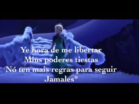 Let it go in Mirandese  - (Libardade)-with subtitles.