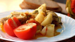 Самое вкусное второе из курицы Куриные бедра с картофелем на сковороде