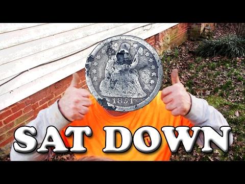 Take a Seat James - Metal Detecting 2017 - Old Silver and Civil War