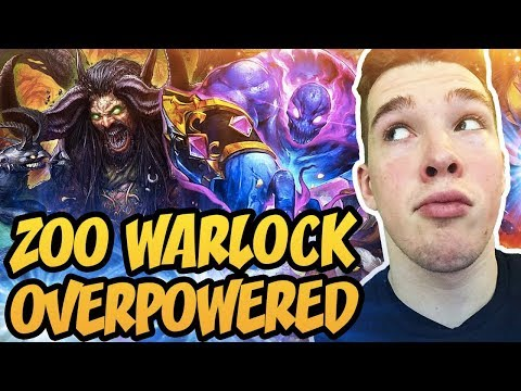 Hearthstone: Zoo Warlock Is Overpowered!