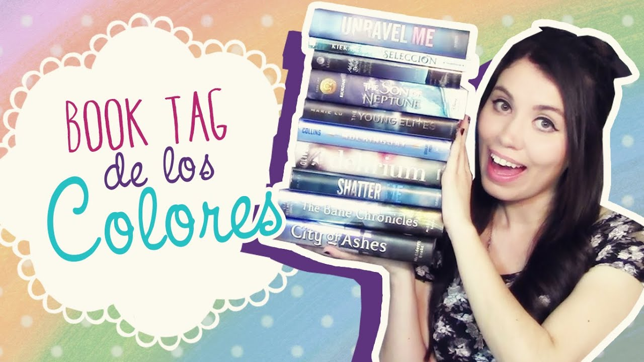 clau reads books book tag 161 el book tag de los colores the book color 1031