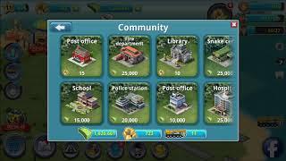 City Island 3 Building Sim Unlimited Money & Gold Cheat MOD APK