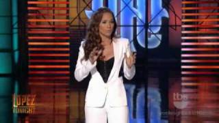 Jennifer Lopez opens the George Lopez Show with funny monologue (January 18) 2009