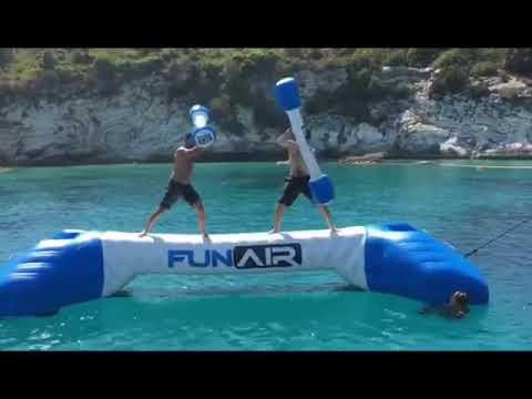 Joust rental: Yacht joust -  gladiator domination match