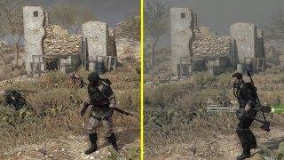 Metal Gear Survive TGS 2016 Demo vs Beta 2017 PS4 Pro Graphics Comparison