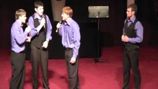 """The Higher Ground Quartet - """"Alpha and Omega"""" (acapella) Plus Highlights From AGS"""