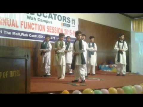 Performance of the educators school on ham ek ha song
