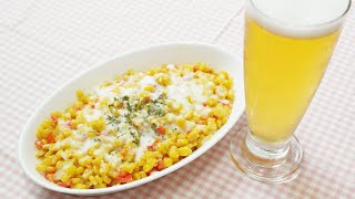 Side Dishes For Beer ! How To Make Corn Cheese :: 맥주안주 콘치즈♡ (eng Sub)
