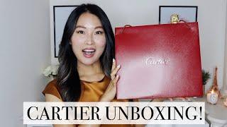 Cartier unboxing 2019   My first Cartier piece