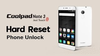 Coolpad note 3frp unlock