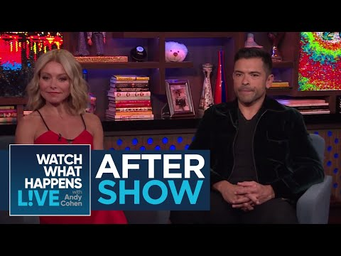 After : Kelly Ripa On The New And Improved Lisa Rinna  WWHL