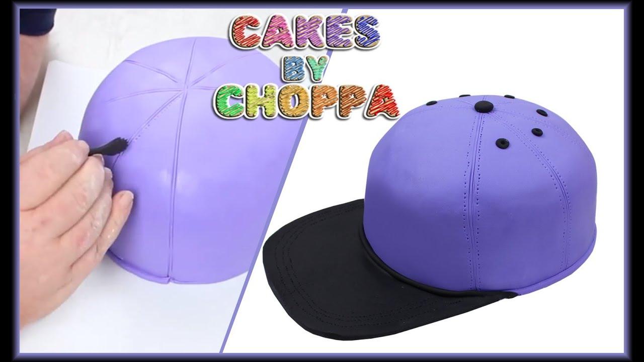 Baseball Hat Cake How To YouTube