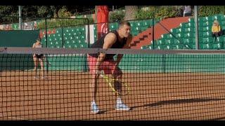 Большой теннис Дзюбы