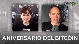 Décimo aniversario del Bitcoín